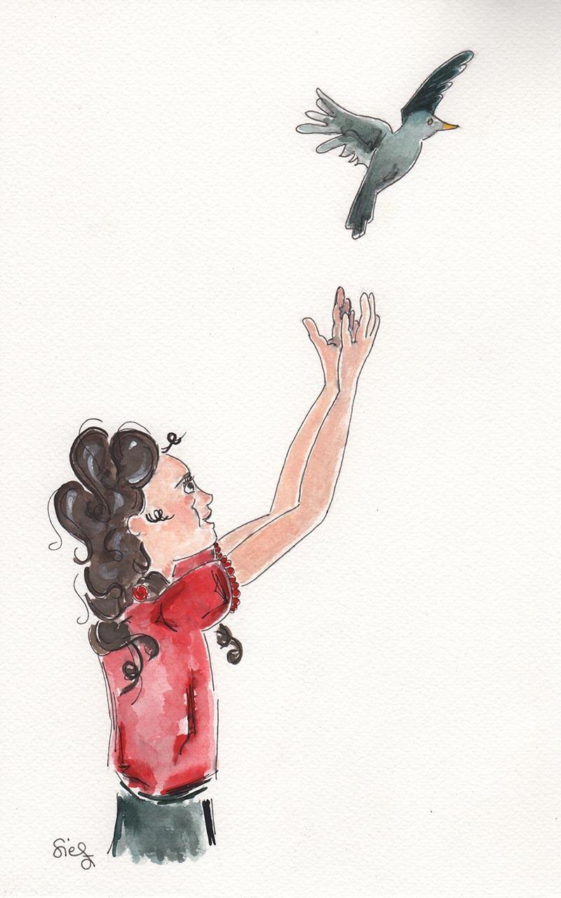 illustratie vrijheid